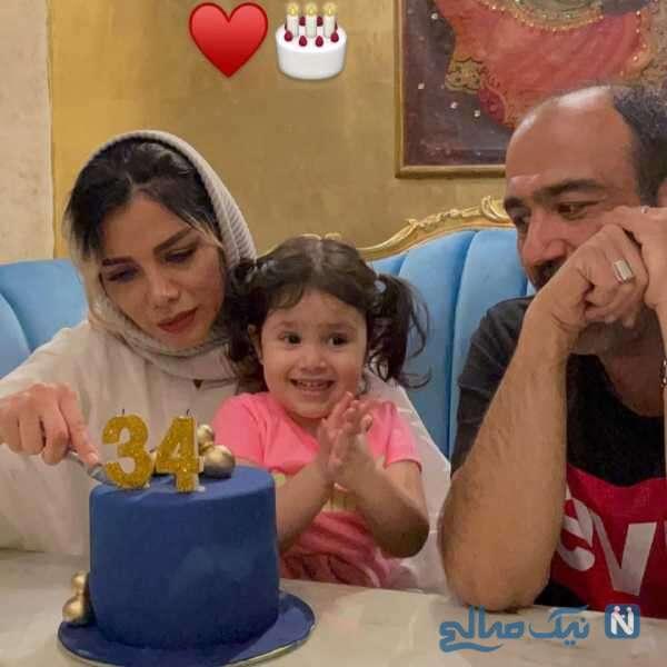 تولد 34 سالگی همسر مهران غفوریان