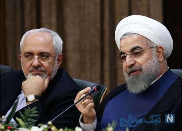 محمدجواد ظریف و روحانی
