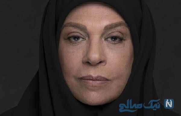 گریم متفاوت گوهر خیراندیش در نقش همسر ناصر الدین شاه