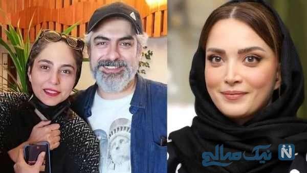 همسران بازیگر مهدی پاکدل