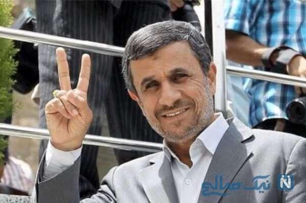 احمدی نژاد رئیس جمهور سابق ایران
