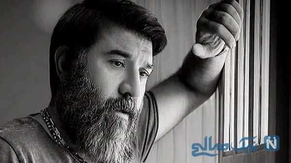 تصویری از علی انصاریان بازیگر ایرانی