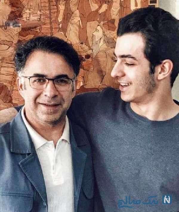 بازیگر معروف و پدرش