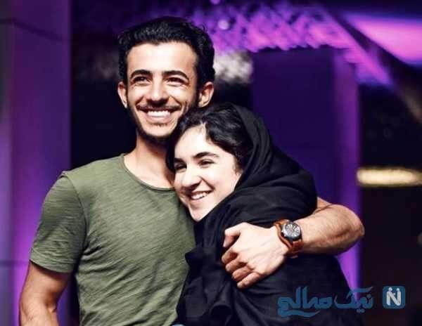 علی شادمان بازیگر معروف و خواهرش