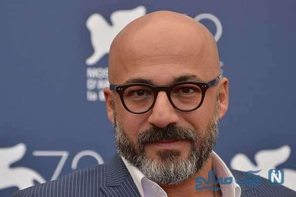 امیر آقای بازیگر معروف سینما به دلیل فوت مادرش عزادار شد
