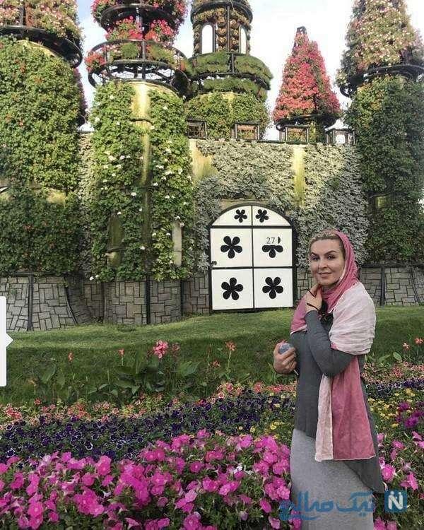 تصویری از آزیتا ترکاشوند بازیگر ایرانی