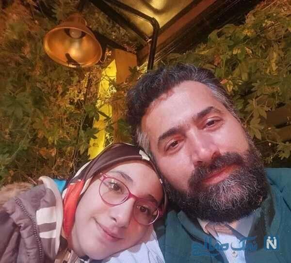 امیرخسرو عباسی و دخترش