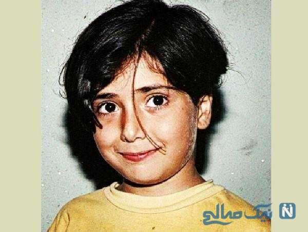 تصویری از باران کوثری در کودکی