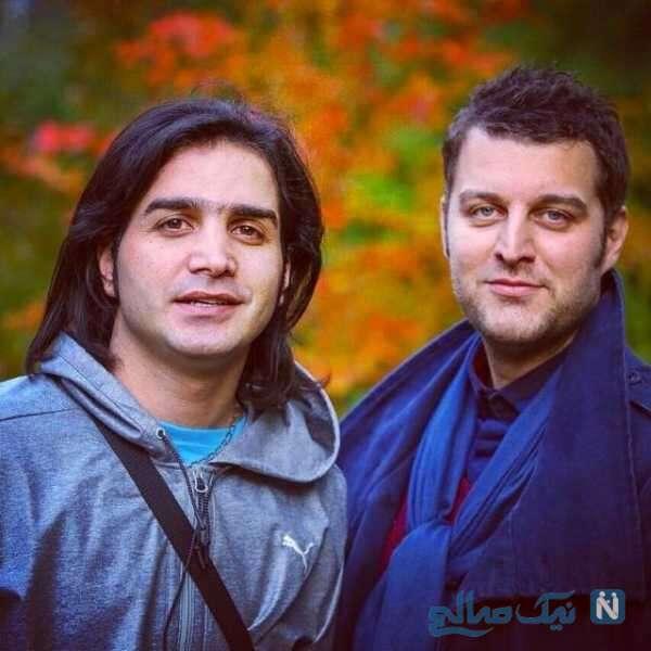 محسن یگانه و مجری معروف