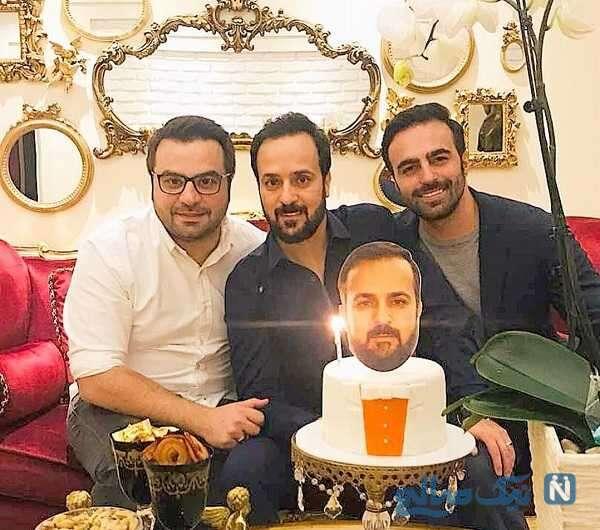 جشن تولد احمد مهرانفر