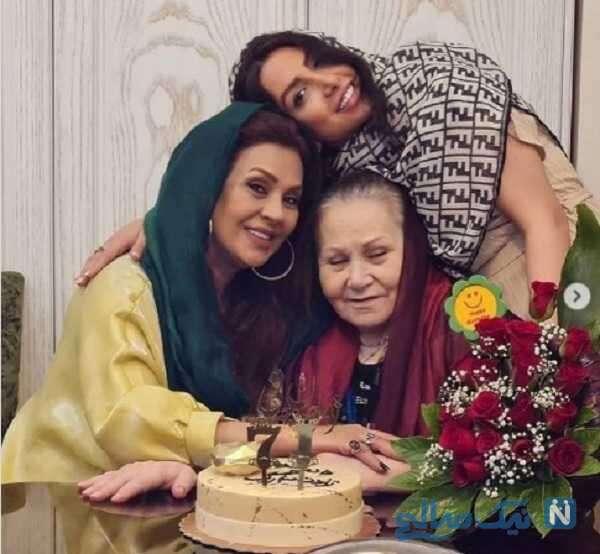 تولد 71 سالگی مادر نسرین مقانلو