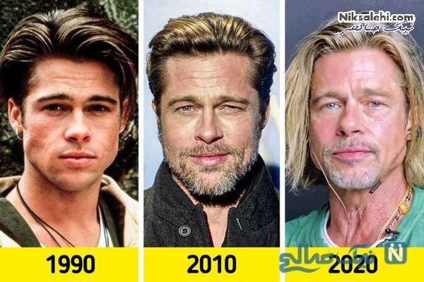 مدل مو سلبریتی ها و تغییر استایل آن از آغاز شهرت تاکنون