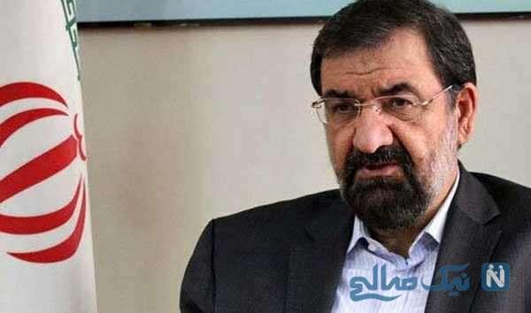 تغییر چهره محسن رضایی سیاستمدار ایرانی