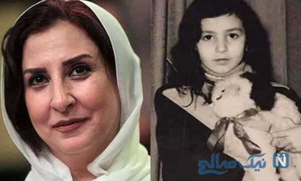 مرجانه گلچین و کودکی بازیگران زن ایرانی