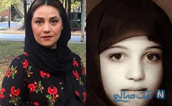 تصاویری از کودکی بازیگران زن ایرانی