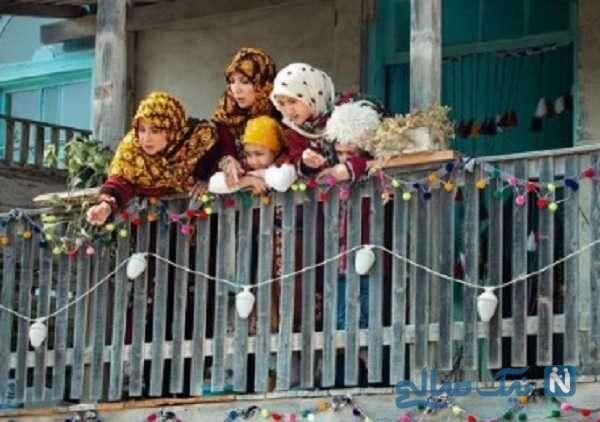 بازیگران زن با لباس ترکمنی