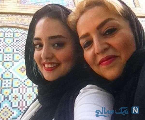 تبریک نرگس محمدی برای مادرش