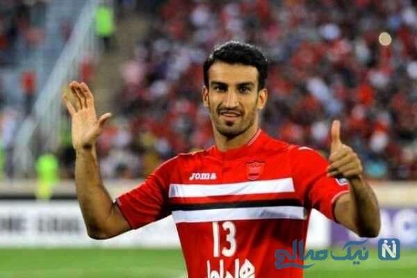 وقتی دختر حسین ماهینی فوتبالیست معروف برنامه زنده را به هم می ریزد!