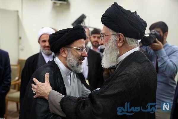 سید ابراهیم رئیسی و رهبر معظم انقلاب