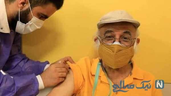 واکسینه شدن فریدون جیرانی کارگردان