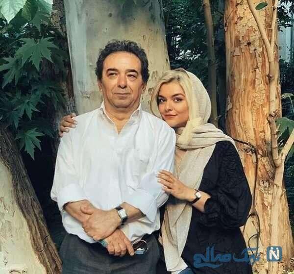 پدر بازیگر ایرانی
