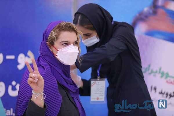 تزریق داوطلبانه واکسن ایرانی توسط دنیا مدنی