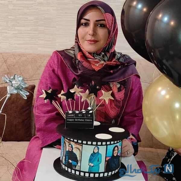 تولد لاکچری المیرا شریفی مقدم