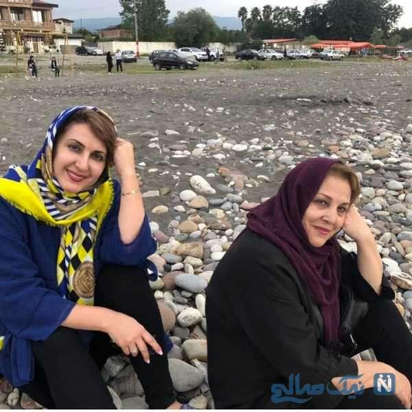 عکس از فاطمه گودرزی و خواهرانش