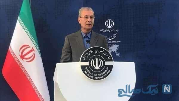 تصویری از علی ربیعی سخنگوی دولت