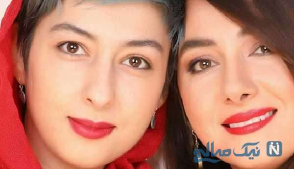 شباهت هانیه توسلی به خواهرش