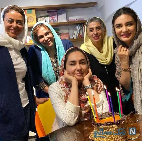 جشن تولد هانیه توسلی