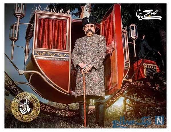 حسن معجونی بازیگر نقش ناصرالدین شاه