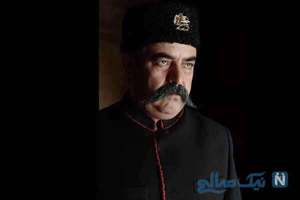 تصویری از حسن معجونی در نقش ناصرالدین شاه