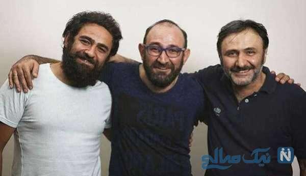 تصویری از هدایت هاشمی و برادرانش