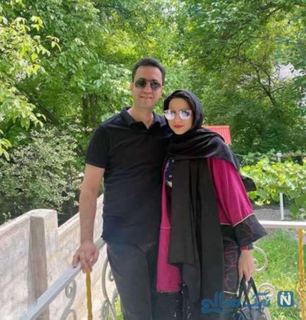 تصاویر محیا اسناوندی و همسرش