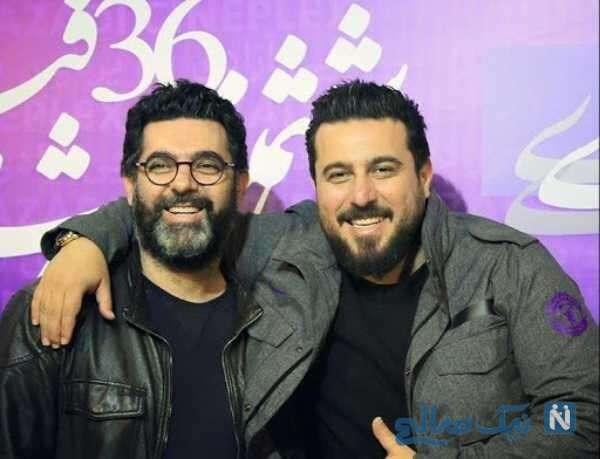 بازیگر ایرانی محسن کیایی و برادرش