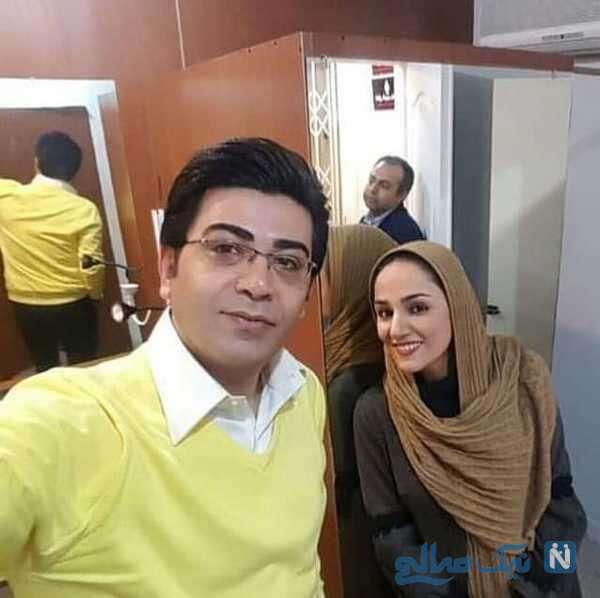 فرزاد حسنی و مرحوم ریحانه یاسینی