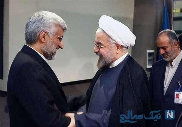 سعید جلیلی و روحانی