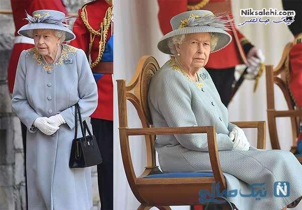 استایل ملکه الیزابت