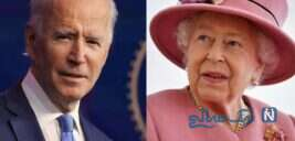 جو بایدن و همسرش در دیدار با ملکه الیزابت به صرف چای