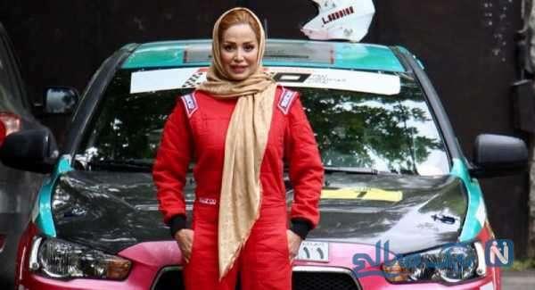 گفتگو با لاله قهرمان اتومبیلرانی