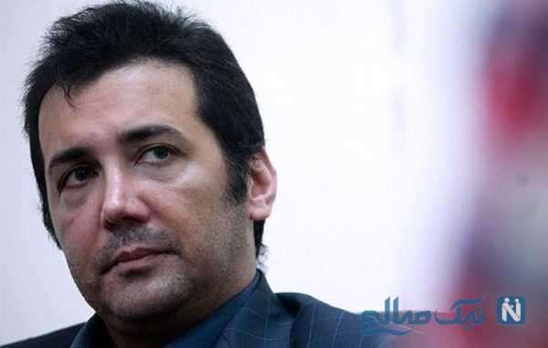 لایو حسام نواب صفوی و واکنش تند آقای بازیگر نسبت به متواری شدنش