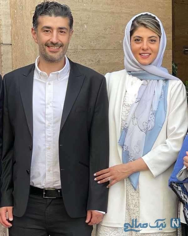 عکس جدید مهسا طهماسبی با همسرش