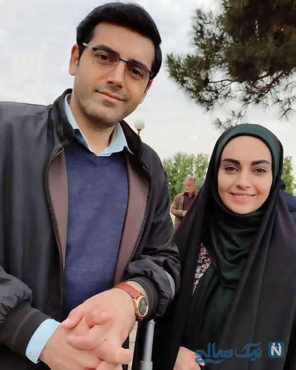 مهشید جوادی و محمدرضا رهبری