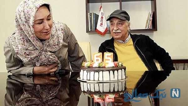 تصویری از جشن تولد مهوش صبرکن