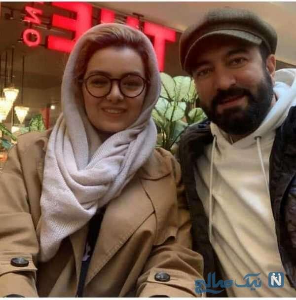 عکس جالب مجید صالحی و همسرش
