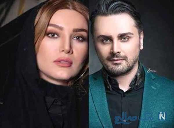 علی زندی و همسرش