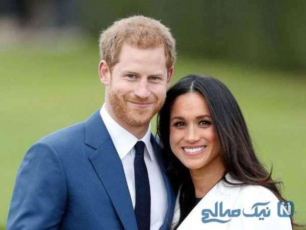پرنس هری و همسرش