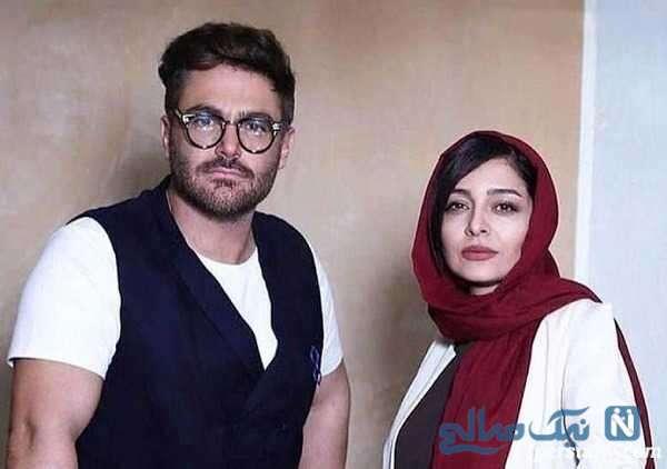 محمدرضا گلزار بازیگر سینما و ساره بیات