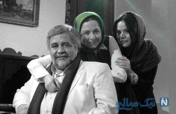 شریفی نیا و دخترانش